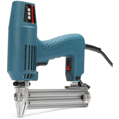 1800W 220V Electric Nailer Pneumatic Stapler With 2 Keys Hasaki