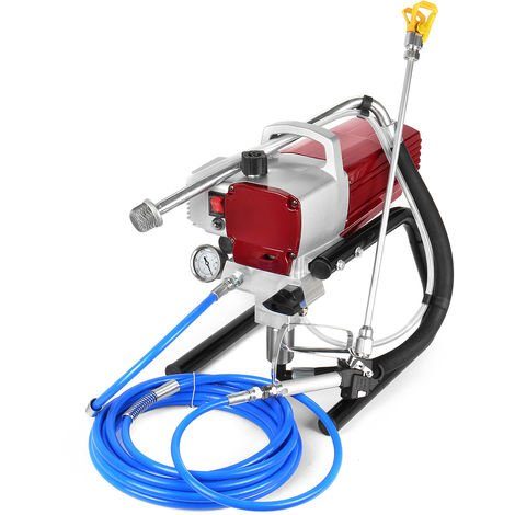1800W Electric Airless Paint Sprayer Painting Machine High Pressure Wall Spray Gun