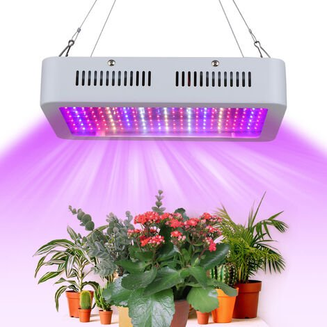 1800W LED de Cultivo con colgantes cadenas de cordon vegetal Full Spectrum y plantas de interior cultivo de flores blancas luces del panel del rojo azul de la lampara 200pcs para el invernadero hidroponico