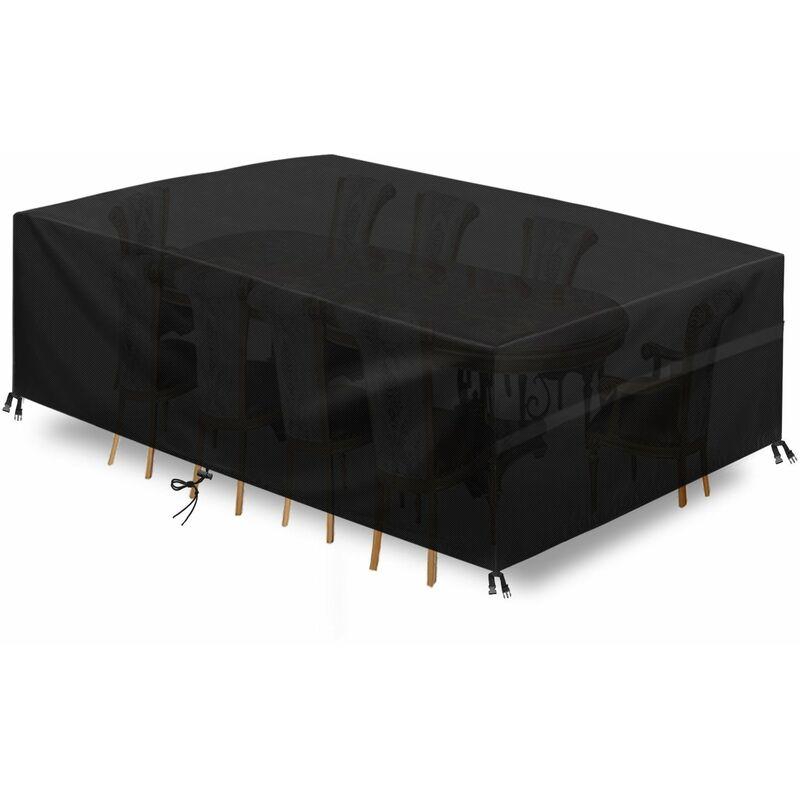 180*120*74cm Housse de meubles étanche extérieur jardin Patio plage canapé chaise Table couvre Protection pluie neige housse anti-poussière