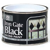 180ml Coatings: Iron Gate Black Gloss Paint