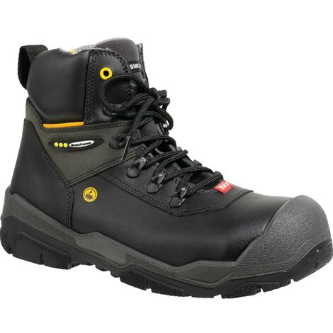 1828 Jalas Jupiter Men's Black Safety Boots