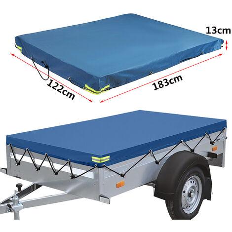 """main image of """"183*122*13cm Housse de remorque pour camping-car Imperméable robuste Bleu"""""""