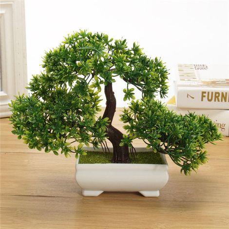 18cm Artificielle Bonsa? Arbre Plante Pot Table Décoration Bureau Maison