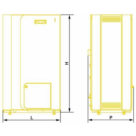 18kW Power Efficient Heating 5th Energy Class Boiler Wood Pellet PerEko KSP Spark