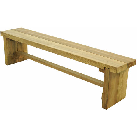 1.8m (6'x1') Forest Double Sleeper Bench