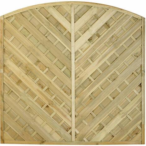 1.8m High Forest Kempton Panel