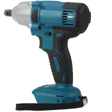 18V 1/2 '' Cordless Impact Wrench Cordless Electric Wrench Power Tool 480N.m Rechargeable Torque for Makita Battery