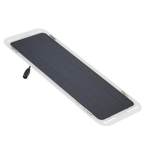 18V 5W Thin multifuncional silicio monocristalino del panel solar cargador ultra portatil puerto USB para el telefono celular del coche 12V de la bateria de la motocicleta Barco acampar a caballo Escalada