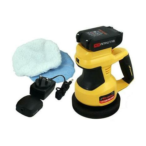 18v Cordless Car Polisher for Waxing and Polishing