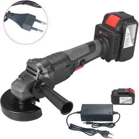 18V Herramienta sin escobillas amoladora angular, 100 mm, velocidad variable, la mequina de molienda del cortador del metal, 2 #
