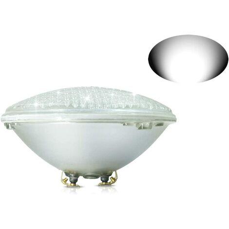 18W Lampe de Piscine LED Blanc Lumière PAR56 12V DC/AC, Etanche IP68 Éclairage sous-marin, Remplacez Les Ampoules halogènes 150W