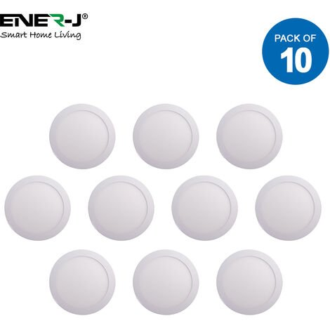 18W LED Recessed Panel Downlighter 220mm Dia, 4000K (pack of 10 units)