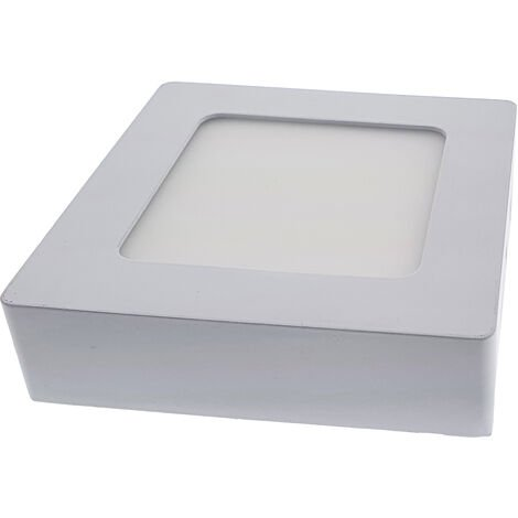 18W Panel LED superficie - Cuadrado 4000K 225x225