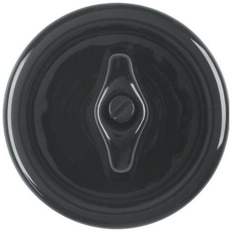 1930 Enjo+manette rotativ noir Porcelaine by Rosenthal (WMV785N)