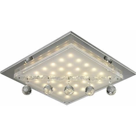 19W LED luz de techo lámpara de vidrio de iluminación cristalina de la lámpara Esto! 749027