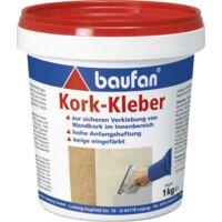 1kg Kork-Kleber, Dispersionskleber, Kork, Wandkork