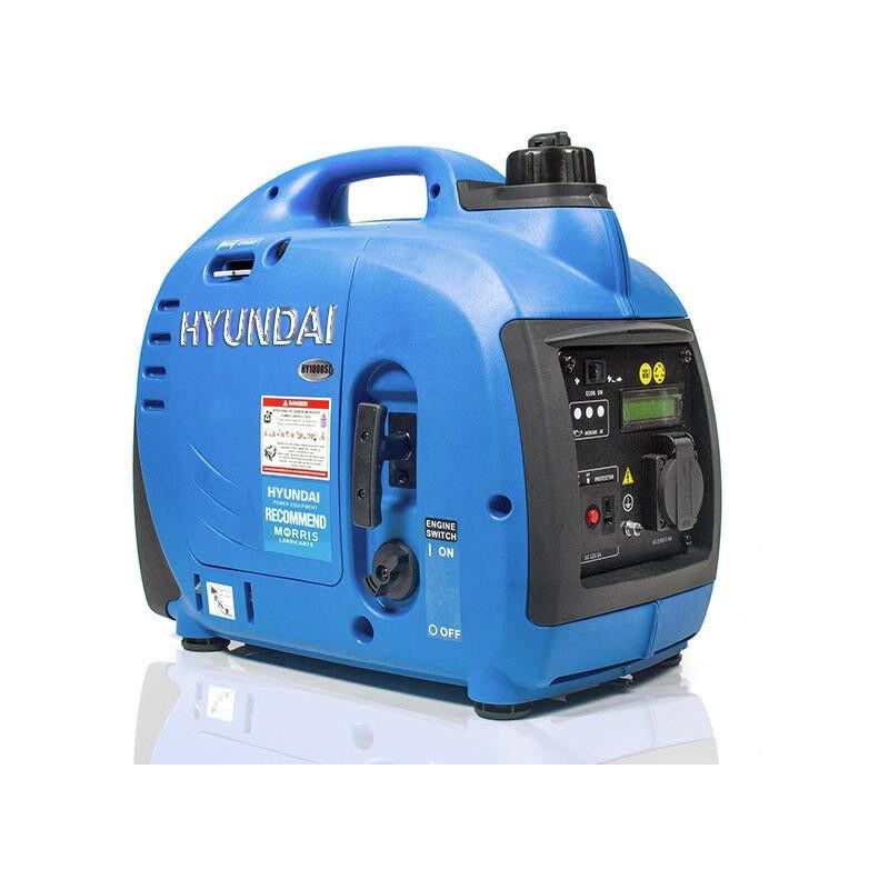 Image of Hyundai 1000W Portable Petrol Inverter Generator | HY1000Si