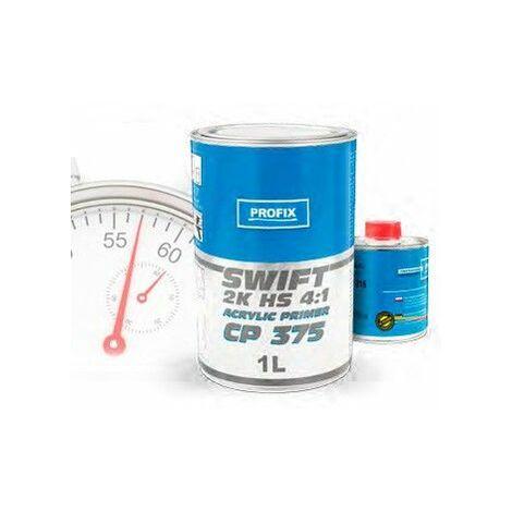 1L + 0,25L Gris Apprêt 4/1 CP375 SWIFT Pack durcisseur inclus - Gris