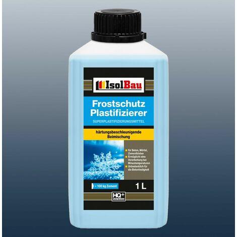 1L Beton-Zusatzmittel Frostschutz Plastifizierer Betonverflüssiger Markenware