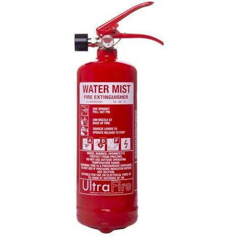 """main image of """"1ltr+ Water Mist Fire Extinguisher - UltraFire"""""""
