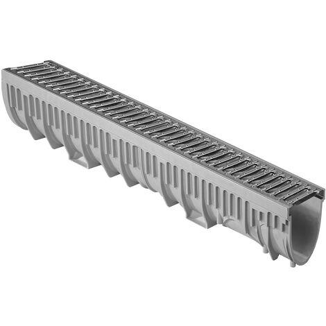 1m caniveau MEARINPLUS largeur100 grille passerelle galva A15
