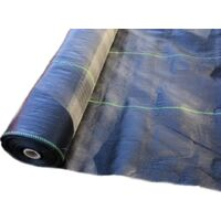 1m x 100m heavy duty woven weed control fabric with planting lines ground cover mulch landscape garden prevention