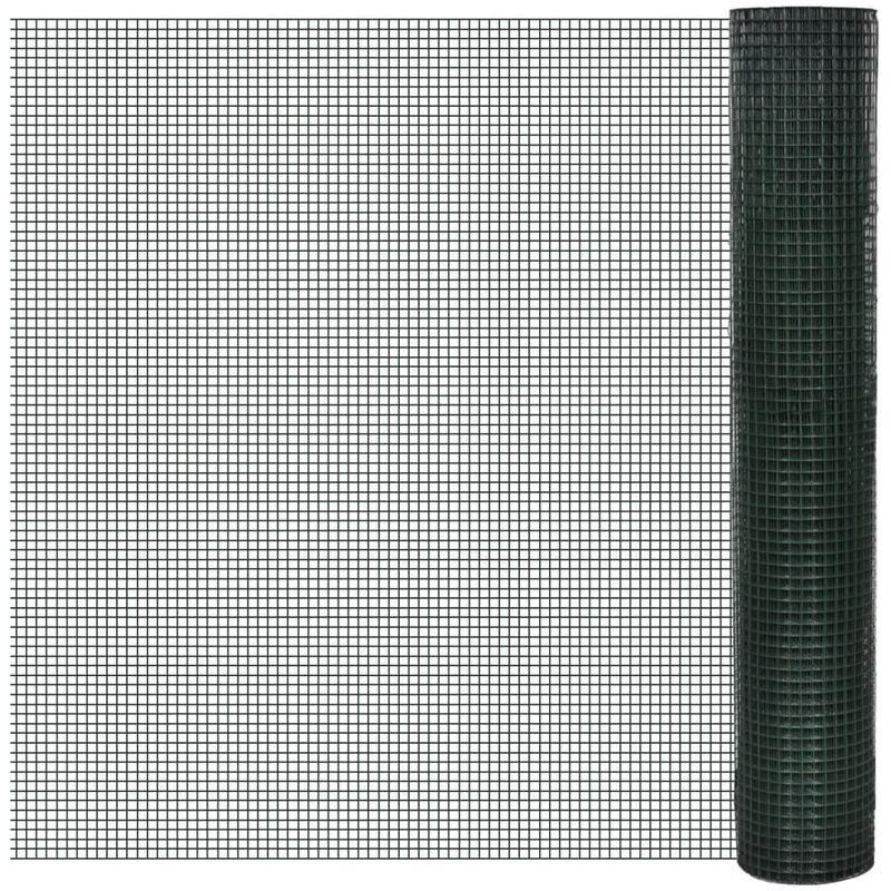 vidaXL Maschendraht 6-Eck Drahtgeflecht Draht Drahtgitter Stahl mehrere Auswahl