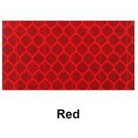 1m x 50mm Yuzet Red high intensity Reflective Tape diamond micro prismatic  engineering grade EGP