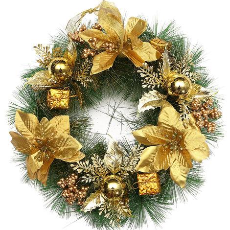 1pc 30cm Árbol de navidad plástico Guirnalda colgante Decoración para fiestas Adornos Azul LAVENTE
