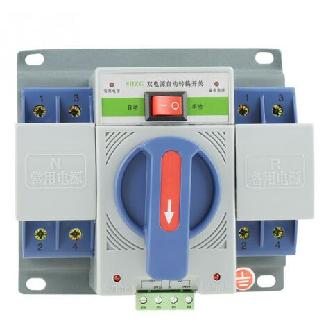 """main image of """"1pc Automatic Transfer Switch 220V 63A 2P Mini Dual Power T"""""""