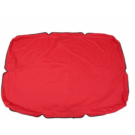 """1Pc Swing Canopy Cover 75 """"x52"""" X5.9 """"red WASHED"""