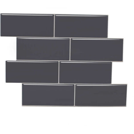 1PC Tile Stickers 3D Brick Wall Self-adhesive Sticker Bathroom Kitchen