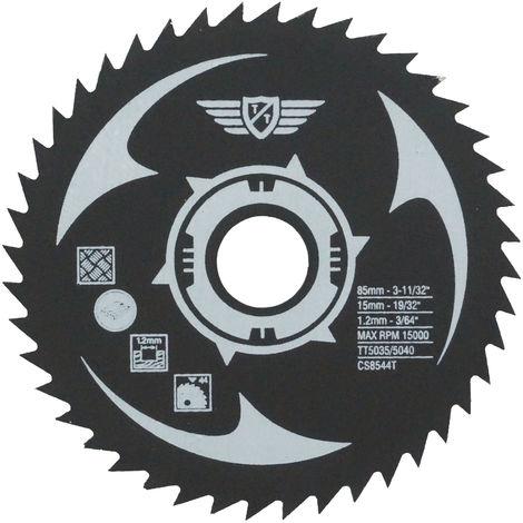 1pc TopsTools 85mm 44T HSS Circular Saw Blade - CS8544T