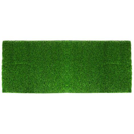 1pcs Artificial Grass Roll Rest Offcut Mat Realistic Green Garden 0.5x1m 1cm Thickness Sasicare