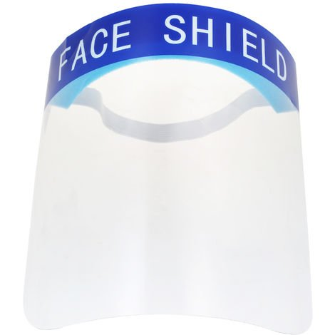 1Pcs Full Face Ma-sk Anti-droplets Anti-fog Face Shield Dust-proof Protective Cover Transparent Face Eyes Protector