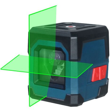 """main image of """"1pcs Niveau Laser,Niveau Laser Vert Autonivelant LV1D Laser Croix avec 22 Lignes 2 Piles AA Etui de Protection IP54 pour Extérieur et Intérieur"""""""