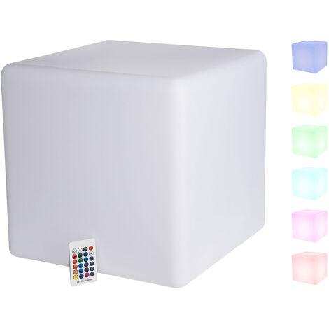 1PLUS multifunktionale Premium LED Gartenleuchte Leuchtwürfel Würfelleuchte in versch. Größen