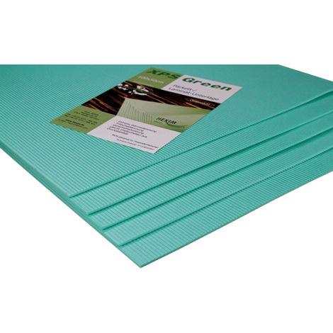 1qm Trittschalldämmung 3 - 5mm | Wärmedämmung für Laminat Parkett | XPS GREEN