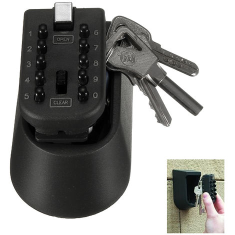 1x COMBINATION OF OUTDOOR SAFE KEY RESISTANT MOUNTED SAFETY WALL