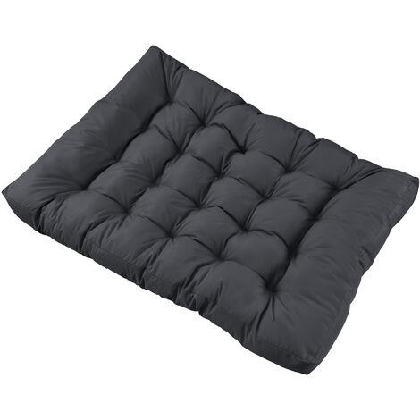 1x coussin de si ge pour canap d 39 euro palette gris fonc coussins de palettes in outdoor - Coussins pour canapes ...