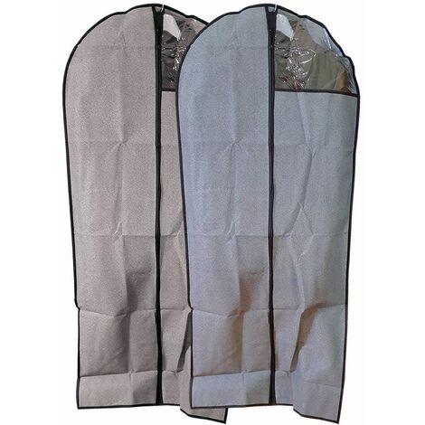 1X Custodia per abiti appendiabiti porta abiti viaggio sacchetti porta  vestiti 8a03c0c75bd