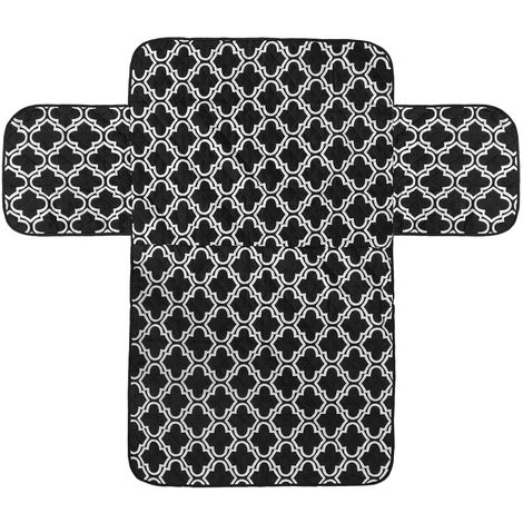1x funda protectora para sofá impermeable extraíble negro de 3 plazas