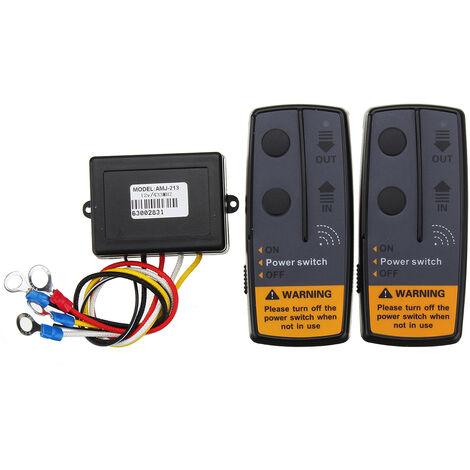 1x Kit de recuperación de control remoto inalámbrico digital para cabrestantes