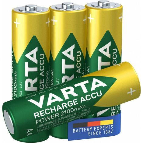 Varta Batterie ready2use AA 2100 mAh, 4 pièces en blister (56706 101 404)
