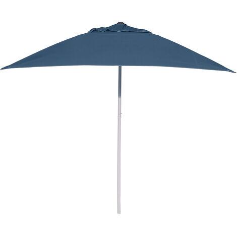 2 * 2m square Umbrella outdoor shade Parasol beach Dark blue