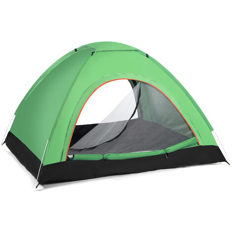 2-3 Person Waterproof Camping Tent Automatic Quick Shelter green 200x150x120cm