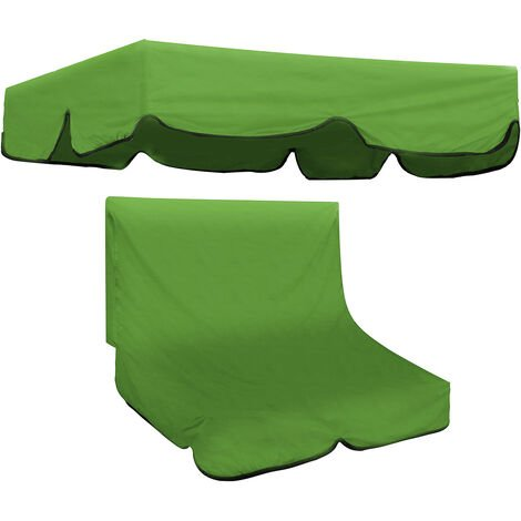 2/3 Seater Swivel Garden Chair Canopy Replacement Seat Cover