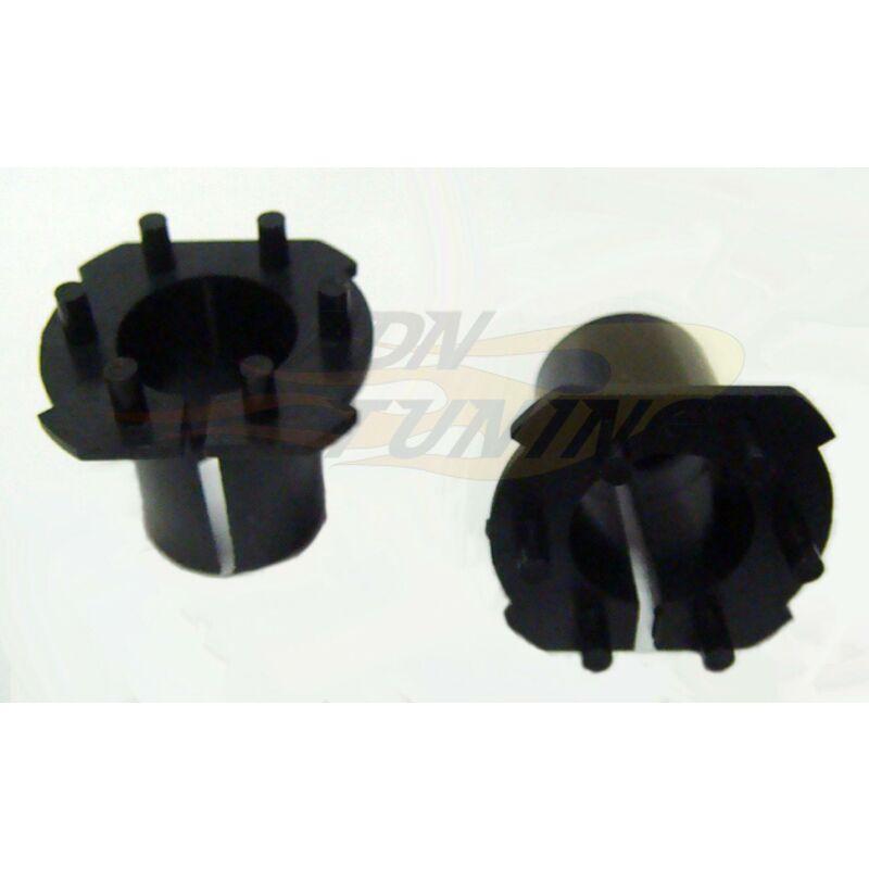 2 Adaptateurs - Lampe Hid H7 compatible avec Opel - Honda Crv - Mazda 3 6