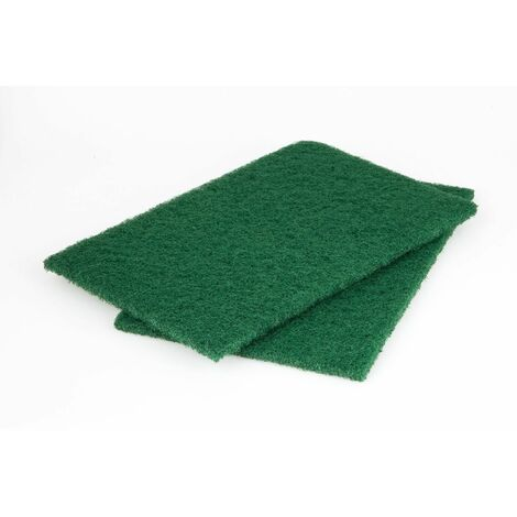 2 almohadillas de fieltro para lijar madera 150 x 230 mm Wolfcraft Grano 280
